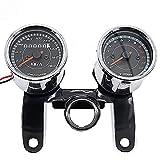 Motorrad Tachometer Kompatibel für Yamaha XJ 600 F/N/S Diversion VTV chrom