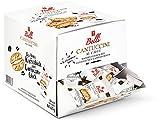 Belli Cantuccini AL CAFFÉ (1x 600g) | 60x Kekse pro Box | Gebäck mit Mandeln und Kaffee-Bohnen aus Italien | einzeln verpackte Kekse