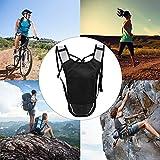 Trinkrucksack Daypack, Trinkrucksack Zweilagige Tasche Leichter und atmungsaktiver Radsport-Laufrucksack Trinkrucksack zum Laufen Radfahren, Klettern, Camping