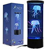 Quallen Stimmungs Lampe, Quallen Lampe, LED Fantasy Desktop Runde Quallen Lampe, Für Die Dekoration USB-Ladevorgang Farbe Nachtlicht, Aquarium Stimmungslampe