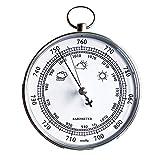 Wandbarometer, Temperatur- und Luftfeuchtigkeitsmesser, Wettervorhersage, Wetterstation, Wettermessung