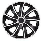NRM Radzierblende Quad Bicolor schwarz/Silber 13 Zoll 4er S