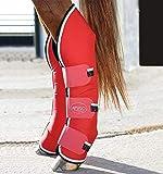 Horseware Amigo Travel Boots - Red/White - Transportgamaschen, Größe:Vollblut (M)