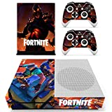 Xbox One S Fortnite Console Skin, Decal, Vinyl, Sticker, Faceplate - Console and 2 Controllers - Protective Cover XBOX ONE S