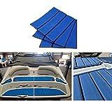 POHOVE Bootsbodenbelag aus EVA-Schaum, Teakholzimitat, Bodenbelag für Bootsboden oder Terrassendielen, rutschfest, für Boote, Yacht, Bodentepp