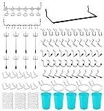 111 Teiliges Werkzeuglochwand Haken mit Kunststoffbox für Zangen, Hammer