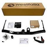 Westfalia abnehmbare Anhängerkupplung - AHK für VW Sharan 2 & Seat Alhambra 2 - Im Set mit 13-poligem fahrzeugspezifischem Westfalia Elektrosatz