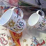 Tasse mit Namen, Kunststofftasse, personalisierte Kindergartenkindtasse, Rosirosinchen