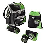 Sammies Premium Schulranzen Set 5 tlg. - Green Mamba