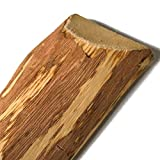 Zaunlatten aus Haselnuss • Zaunbretter 5cm x 60cm zum Selbstbauen von Holzzaun, Lattenzaun, Staketenzaun bzw. Kastanienzaun