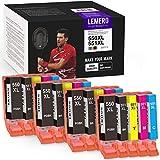 LEMERO Utrust 550XL 551XL Tintenpatrone Kompatibel für Canon PGI-550 CLI-551 XL für Canon PIXMA IP7250 IP8750 MX925 MG5650 IX6850 MX725 MG5550 MG6350 MG6450 Drucker (20-Multipack)