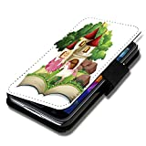 Book Style Flip Handy Tasche Case Schutz Hülle Schale Motiv Etui für Nokia Lumia 520 - A35 Design12