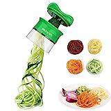 Sedhoom SpiralschneiderHandFürGemüsespaghetti GemüsehobelFürKarotte,Gurke,Kartoffel,Kürbis,Zucchini