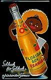Buddel-Bini Versand Blechschild Nostalgieschild Florida Boy Orange Orangensaft Limonade Kneipenschild