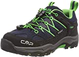 CMP – F.lli Campagnolo Jungen Unisex Kinder Kids Rigel Low Shoe Wp Trekking-& Wanderhalbschuhe, Blau (B.Blue-Gecko 51ak), 34 EU
