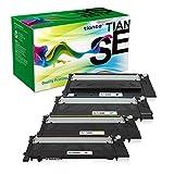 TIANSE Kompatible Tonerkartusche Ersatz für Samsung CLT-404 CLT-K404S CLT-C404S CLT-M404S CLT-Y404S zur Verwendung mit Samsung Xpress SL-C430 SL-C430W SL-C480W SL-C480FW SL-C480FN Drucker (4 Stück)