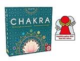 Game Factory 646277 Chakra, Mit Strategie zur Harmonie, Familienspiel, Strategiespiel für Erwachsene und Kinder ab 8 Jahren