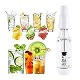 DSMGLRBGZ Wassersprudler Lebensmittelqualität Soda Stream Kein Strom Nötig 0 Zucker, 0 Fett Gesundheit Schönheit für Fruchtsaft Cocktail Mix Shaker Bar Zubehör