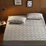 CYYyang Matratzenschoner Baumwolle, Atmungsaktive Premium Matratzenauflage, Einzelstück Bettlaken verdickt-25_90 * 190cm