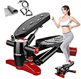 Agcwhls Treadmill Machine for Home Use Home Fitness Stepper with Elastic Rope, Non-Slip Carpet, Simple Treadmill, Lose Weight Fitness Equipment, Running M