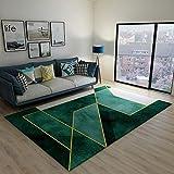 SunYe Nordic Wohnzimmer Sofa Couchtisch Teppich Schlafzimmer Bettmatten Doppelt Dicke Büro Fußmatten rutschfeste Fußmatten, Haustier Teppiche