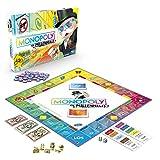 Hasbro Gaming Monopoly E4989100 Monopoly Millennials Partyspiel, deutsche Sprachvariante, Multicolor