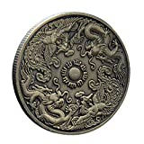 Traditionelle chinesische Drachen-Phoenix-Münze, Gedenkmünze für Familien, Sammler, Freunde