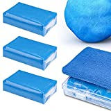 HENMI 3 Pack Reinigungsknete, Professionel Homogene Reinigungsknetmasse, Lackreiniger zur Beseitigung von,Industriestaub, Flugrost, und Insektenresten