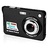 GordVE Digitalkamera, 6,9 cm (2,7 Zoll) HD-Kamera für Rucksackreisen, wiederaufladbare Mini-Kamera, Studentenkameras, Taschenkameras, Digital mit Zoom, Kompaktkameras für Fotografie