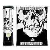 DeinDesign Skin kompatibel mit Microsoft Xbox 360 Folie Sticker FC St. Pauli Offizielles Lizenzprodukt Totenkopf