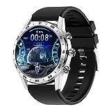 Smart Watch Herren Bluetooth Anruf Rotary Button 454 * 454P Business IP68 wasserdichte WLAN-Ladegerät Musik Spielen Smart Watch,F