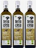 3x Terra Creta BIO Olivenöl | Extra natives Bio-Olivenöl aus Kolymvari (Kreta) | + 1 x 20ml Olivenöl'ElaioGi' aus G