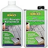 Gardopia Sparpaket: Bondex WPC Reiniger 1 Liter + WPC Imprägnierer 1 L