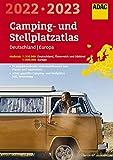 ADAC Camping- und StellplatzAtlas2022/23 Deutschland 1:300 000, Europa 1:800 000: Österreich und Südtirol 1:300 000 (ADAC Atlanten)