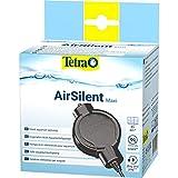 Tetra AirSilent Maxi - leise Aquarium Luftpumpe, Komplettset inklusive Ausstömerstein, geeignet zur Versorgung mit Sauerstoff von Aquarien mit 40 - 80 L