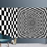 Home Hochflor Teppich Wohnzimmer Shaggy Weich 3D Muster, Soft Garn In Versch,100x200