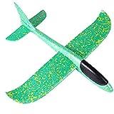 Wurfgleiter, Kinder Schaum Flugzeug, Styroporflieger Flugzeuge Modell, Segelflugzeug, Leichtflugzeug Hand werfen, Outdoor Sport Spiel Spielzeug, Wurfgleiter für Kinder Jungen Mädchen