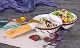 Zellerfeld Trendmax Marmor Sunum Tabagi Service Schale Dessert Pasta Dips Salat Snackteller Servierplattet Pfanne aus Porzellan