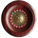 MYYINGELE 12' Rad-Roulette-Set, Holz-Roulette-Rad-Set, Russisches Luxus-Wettrad der Casino-Klasse, Roulette für Spielwettbewerbe, Präzisionslager in Casino-Qualität