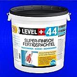 Super Finish Spachtel 25kg Fertigspachtel Q4 Perfekt Glätt Flächen Füll für Küche Bad Wohnzimmer RM44
