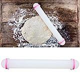 Haowecib Nudelholz mit Design, Nudelhölzer zum Backen Leicht zu reinigen Einfach zu verwenden 5 Stück Antihaft für Kuchen für Knödel