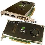 PNY NVIDIA Quadro FX 1800 Grafikkarte (PCI-e, 768MB, GDDR3 Speicher, DVI, HDTV) Bulk