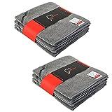 Nürburgring® Lackschonende Mikrofasertücher mit 300 GSM - extrem saugfähig und super weich - Fusselfreie Poliertücher für die Reinigung von Auto und Motorrad - Auto Microfasertücher - 40x40cm