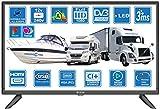 Unispectra® DVB-T2 / C/S2 Freeview Freesat Kabel TV 12 V 240 V USB PVR & Media Player, VGA & HDMI PC Monitor von UK-DVB-T2+DVBS2 (2021))