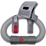 KEEPOW Groom Hundebürste für Dyson Staubsauger, Hund Tierhaarbürste Aufsatz mit Verlängerungsschlauch und Adapter für Dyson V11 V10 V8 V7 und V6