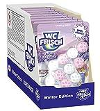 WC FRISCH Kraft Aktiv Winter Edition WC-Reiniger und Duftspüler 150gr (Rodelhäschen 9x 3 Stück)