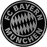 FC Bayern München Autoaufkleber / Sticker / Aufkleber 3D Logo FCB plus gratis Aufkleber forever Mü