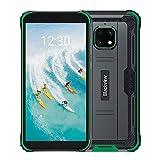 Blackview BV4900 Pro Outdoor Smartphone ohne Vertrag 64GB (Android 10, 13MP+5MP Kamera, 5.580mAh, 5.7 Zoll HD+ Display, Dual SIM, NFC, OTG) IP68 Wasserdicht Handy Grün