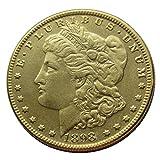Chaenyu American Morgan doppelseitige Münze (1878-1921) vergoldete Kopie Münze Gedenkmünzensammlung Geschenk-1894