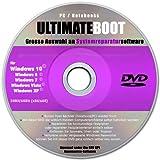 Ultimate Boot CD-DVD (NEU) / Notfall-CD-DVD 2021 für Windows 10 Windows 7 , Windows 8, Vista, XP Betriebssysteme System-Diagnose Tools